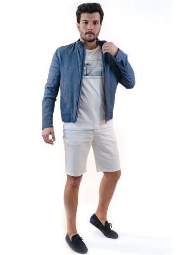 Boris Becker Bisiktlet Yaka Uzun Kol Çıtcıtlı Cepli Erkek Ceket Lacivert